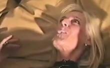 Blonde GILF Fucked By A Big Black Cock