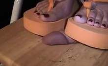 Stepping On His Penis With Shoes On
