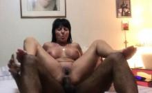 Granny Amateur Takes A Black Cock - Anal Sex