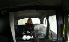 Hungarian blonde anal fucked in fake taxi
