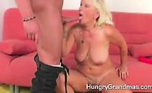Granny farting cum after fuck