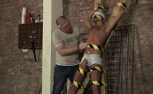 Twink movie of Slave Boy Made To Squirt