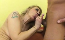 Czech Cougar Alena Anal Penetration By Young Stud